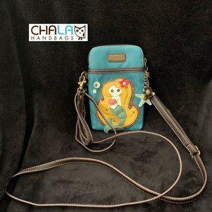 CHALA MERMAID PHONE CROSSBODY BAG